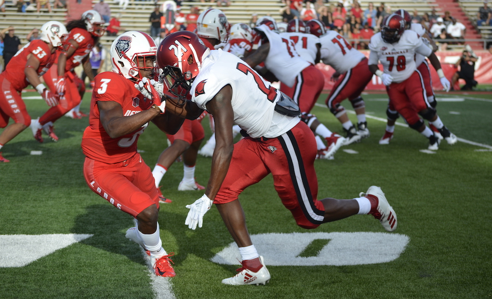 New Mexico faces Liberty for second straight year