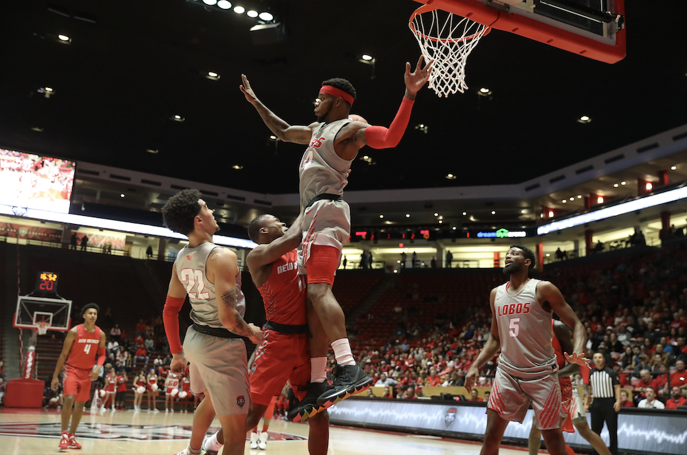 MBB: Lobos still figuring out rotation