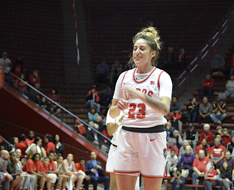 Lobo Women Coast to Third Pre-Conference Win Beating Arkansas Pine Bluff 120-66