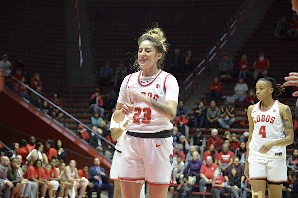 Lobo Women Play NMSU In 1st of Five Straight On the Road