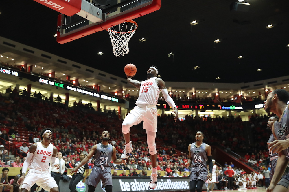 MBB: Lobos pick up 92-71 win in season opener