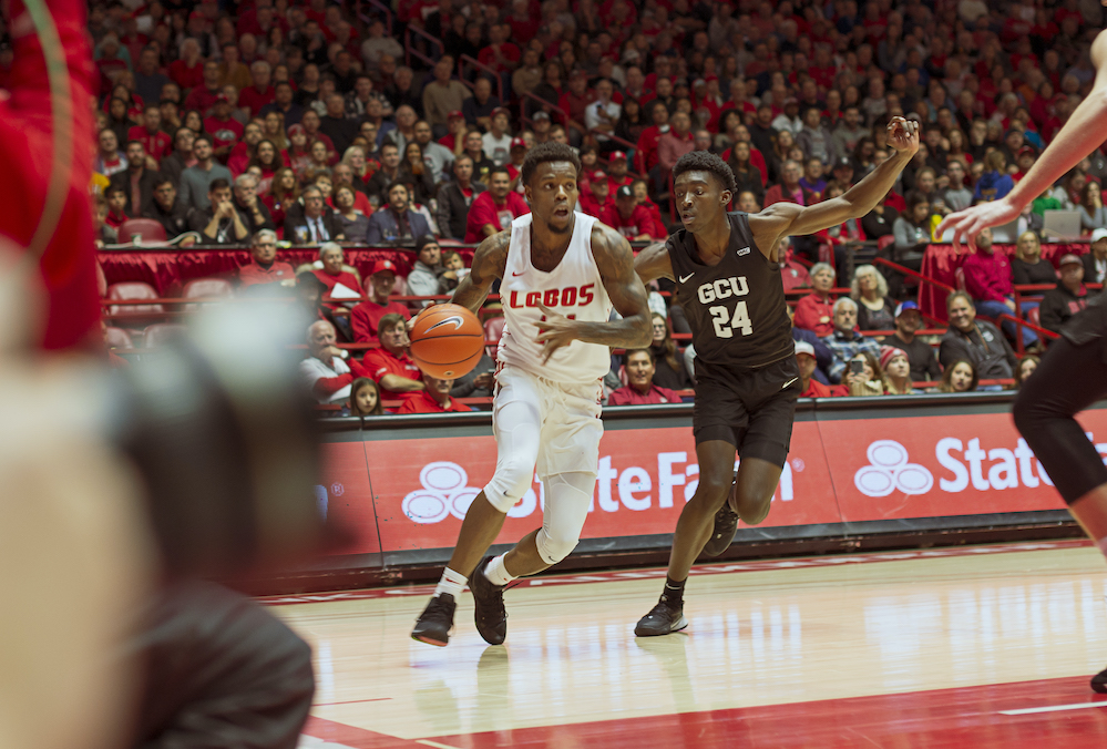 Lobos hit threes in 91-71 victory over GCU