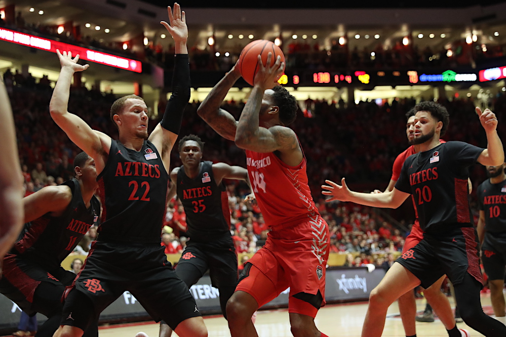 Lobos gain experience, but can't get past No. 4 San Diego State