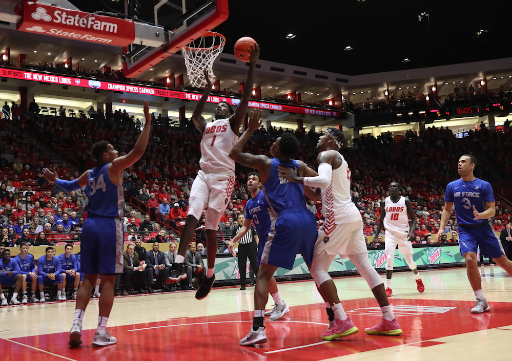 Lobos look to defend The Pit against San Jose State