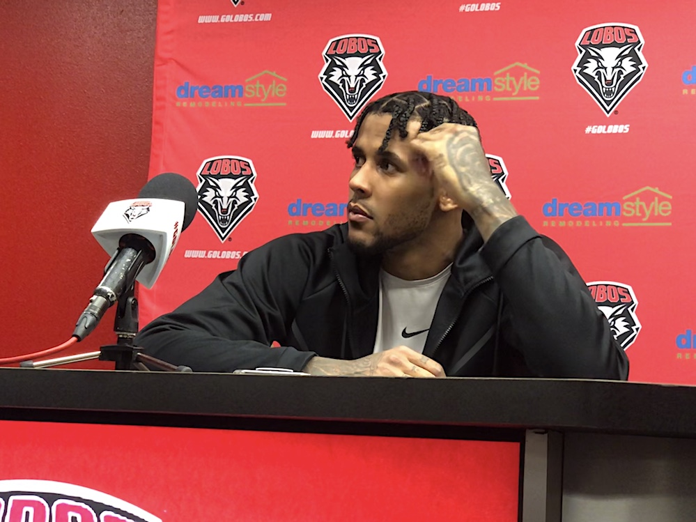 Lobos not changing three-pointer approach, Jackson gets second straight double-double