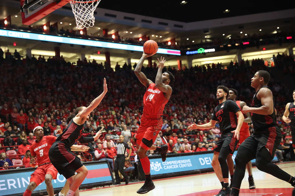 New Mexico gets another chance at San Diego State
