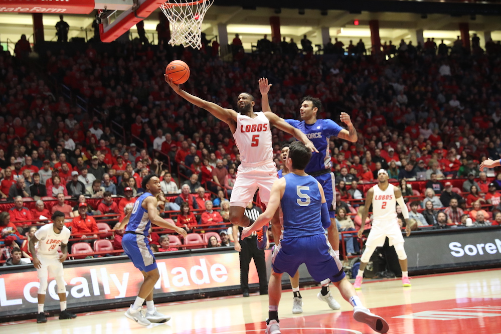 Stagnant offense leads to 60-58 road loss for New Mexico
