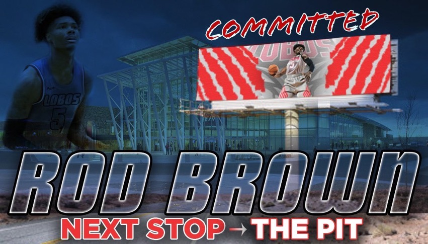 Rod Brown commits to New Mexico