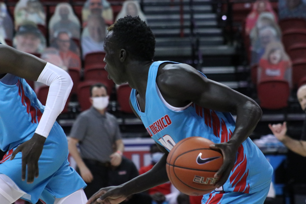 New Mexico falls 77-54 in first game of UNLV series