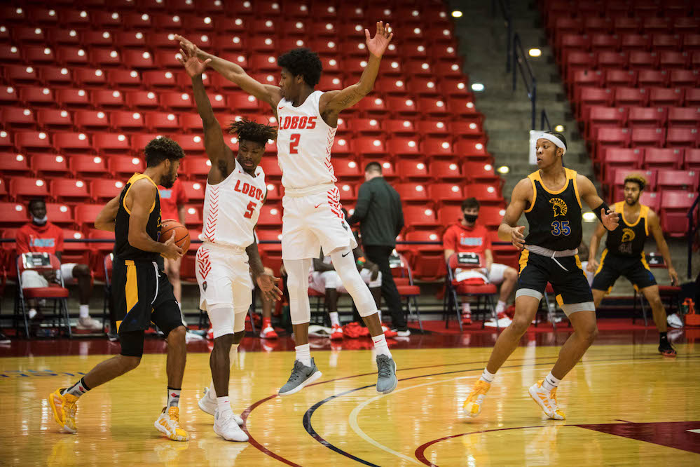 Lobos get first Mountain West Conference win against SJSU